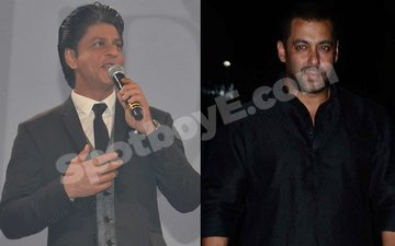 SRK reacts to Salman Khan's 'Raped Woman' analogy