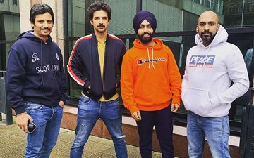 83: Ammy Virk's Bromance With Sahil Khattar, Saqib Saleem And Jiiva On UK Streets Is Unmissable