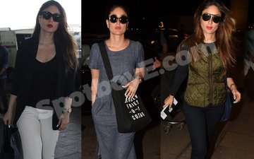 Kareena schools you in airport style