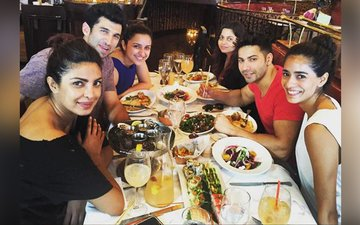VIDEO: Priyanka joins the Dream Team for lunch in NY!