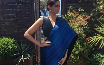 Sonam's feeling the blues at Cannes