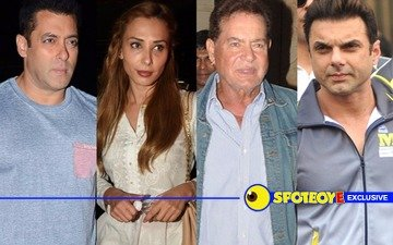 Salim Khan lost his balance outside Otters Club when cameras were thrust at his face