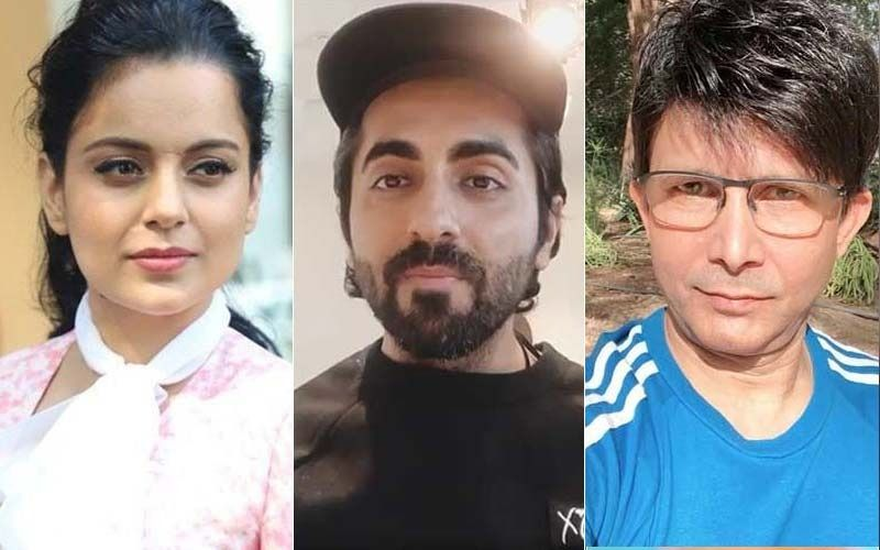 Kangana Ranaut's Team Reacts As KRK Slams Ayushmann Khurrana For Supporting Rhea And Star Kids: 'Chaploos Outsiders Support Mafia For Only One Reason'