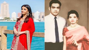 Aishwarya Rai Bachchan Is A Replica Of Her Mother; Shares Vintage Pic Of Her Parents Wishing Them On Their 50th Wedding Anniversary