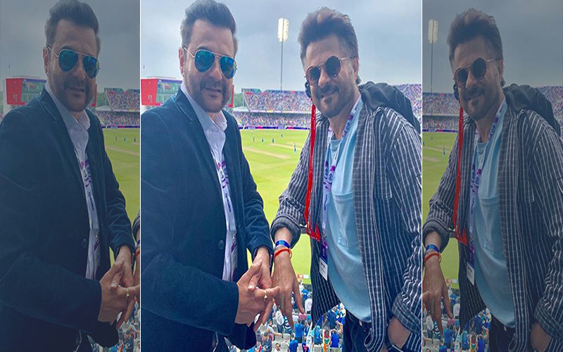 India Vs New Zealand: Anil Kapoor And Brother Sanjay Kapoor Are Ecstatic As They Watch The Match In Manchester