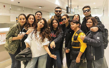 "Malaika Arora Says ""Au Revoir"" To Melbourne; Shares Pic With Boyfriend Arjun Kapoor, Karan Johar, Zoya Akhtar And Gang"