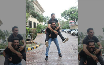 John Abraham Receives A Congratulatory Message From Akshay Kumar For The Success Of Batla House