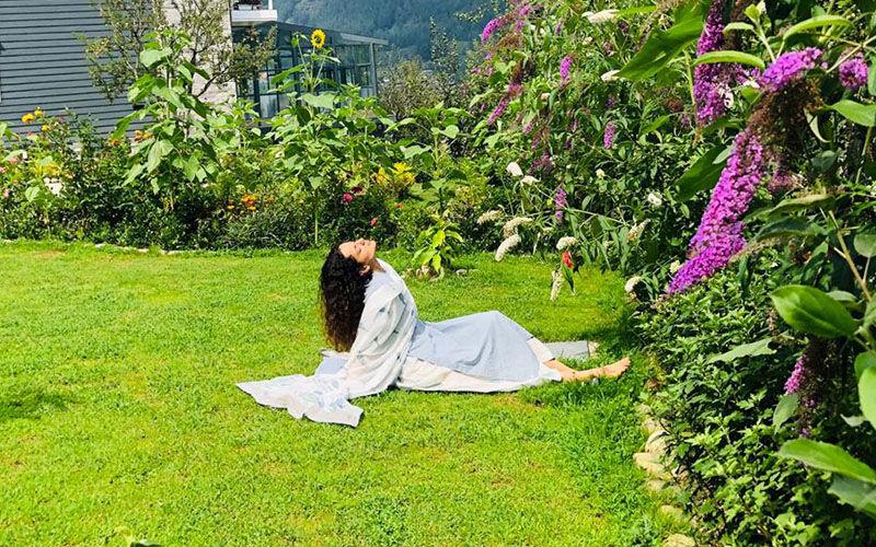 Kangana Ranaut's Manali Residence Garden Explains Her Love For Gardening