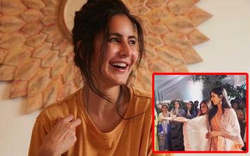 Video Out: Katrina Kaif Performs Ganesh Aarti With Salman Khan's Sister, Alvira's Guidance