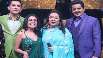 Indian Idol 11: Neha Kakkar Says, 'Mujhse Koi Poocho' As She Addresses Aditya Narayan's Mother As 'Sasu Maa'