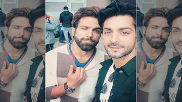 Karan Wahi And Rithvik Dhanjani Get Chatty With Paps Who Followed Them In The City; Netizens Notice The Duo Not Wearing Helmets