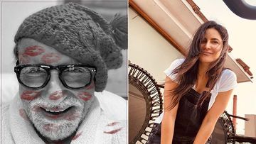 Amitabh Bachchan Addresses Katrina Kaif As 'Deviji' As He Posts A Throwback Picture With Her; The Hilarious Caption Is Unmissable