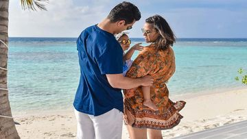 Neha Dhupia And Angad Bedi Pen A Heartwarming Note On INSTA As Their Daughter, Mehr Dhupia Bedi Turns 2