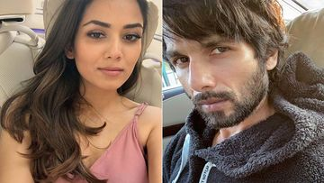 Mira Rajput Seems Annoyed With Her 'Crush' Hubby Shahid Kapoor As He Looks Busy On His Phone Even After He Is Back Home