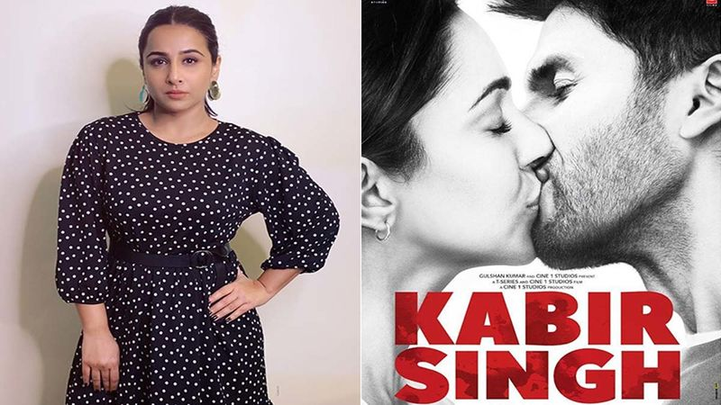Shahid Kapoor's Kabir Singh Finds Support In Vidya Balan; 'There Are Enough Kabir Singhs In The World'