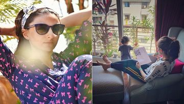 Soha Ali Khan Describes Day 4 Of Her Lockdown, Says 'Confined To Our Columns And Rows'