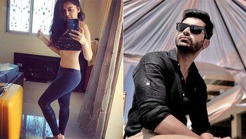 Khatron Ke Khiladi 10 Star Tejasswi Prakash Flashes Her Wash Board Abs; Rohan Gandotra Wonders Who Eats The Food She Cooks