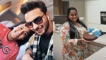 Salman Khan's Sister Arpita Sharma Bakes A Cake For Her Father-In-Law, Hubby Aayush Sharma Can't Stop Praising Her Culinary Skills