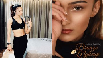 Kasautii Zindagii Kay 2: Erica Fernandes Drops A Makeup Tutorial On How To Ace The Bronze Makeup Look- Video Inside