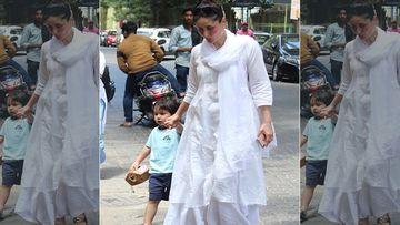 Taimur Ali Khan Breaks Into Cute Bhangara As He Visits Grandmother Babita With Mommy Kareena Kapoor Khan