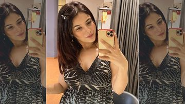 Bigg Boss 13's Shehnaaz Gill Flaunts Her Post Weight Loss Bod As She Dons A Little Black Dress And Let Her Eyes Do The Talking