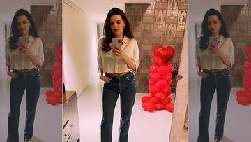 Natasa Stankovic Drops A Selfie On Her INSTA Stories; Romancing The Camera She Calls It 'Home'