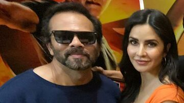 Rohit Shetty And Katrina Kaif Promote Sooryavanshi In Full Swing; Clicked At Film Promotional Event