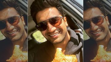Vicky Kaushal Cheats On His Diet As He Relishes Samosa Brought By His Female Fan At The Airport; Pens A Message For Her Parents
