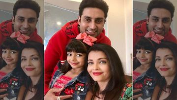 Aaradhya Bachchan Shakes A Leg On Desi Girl With Mommy Aishwarya Rai And Daddy Abhishek Bachchan- Don't Miss This Video