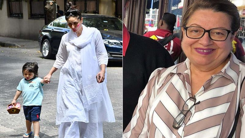 Kareena Kapoor Khan Spotted Post Delivery At Karisma Kapoor's House With Taimur Ali Khan And Her Mother Babita