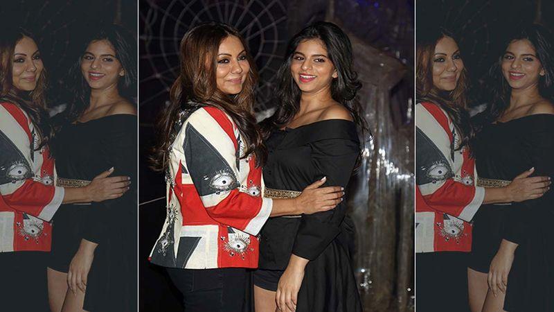 When Little Suhana Khan Imitated Mommy Gauri Khan; The Star Kid Screamed 'Shah Rukh Eat Your Food'