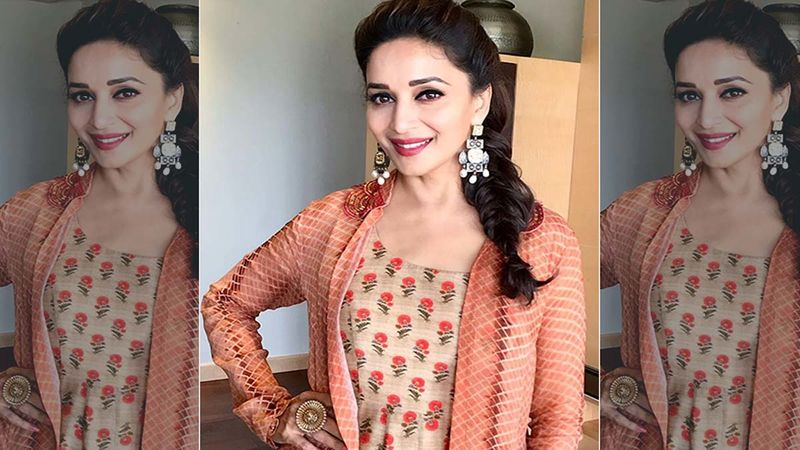 Madhuri Dixit Birthday Special: Times When The Actress Made Us Go 'Dhak Dhak' With Her Unique Style And Beauty-PICS