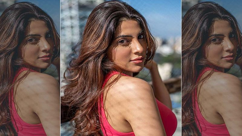 Khatron Ke Khiladi 11: Nikki Tamboli Sizzles In A Red Dress, Says, 'Miracles Are Proud Creatures'