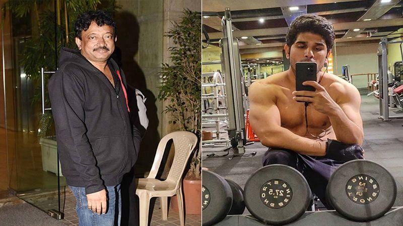 Ram Gopal Varma Takes A Dig At Allu Sirish's Shirtless Selfie; Garners Mixed Reactions From Netizens