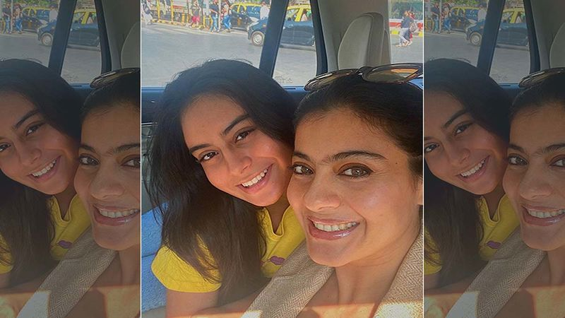 Netizens Are In Splits As A Pap While Clicking Kajol And Nysa Devgn At The Airport Unfortunately Breaks His 'Chappal'