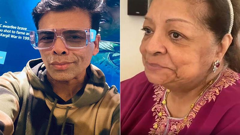 Karan Johar Shares A Lovely Video As Mother Hiroo Johar Heads Back Home Post 2 Massive Surgeries; Says 'She Endured Both Surgeries With Her Indomitable Spirit And A Sense Of Humour'- Watch