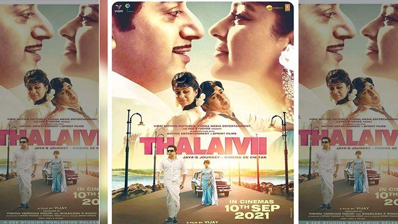Kangana Ranaut-Starrer Thalaivii Gets U Certificate From CBFC