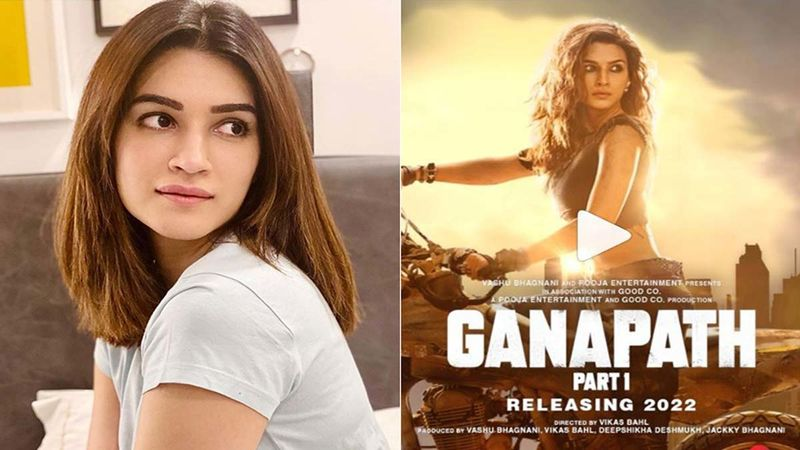 Kriti Sanon On Her Next Film Ganapath, Co-Starring Tiger Shroff: 'Audience Will See Me In Action Mode For The First Time'