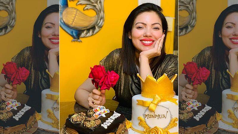 Taarak Mehta Ka Ooltah Chashmah: Munmun Dutta Aka Babita Celebrates Her Birthday With Her Mother And Her Cat