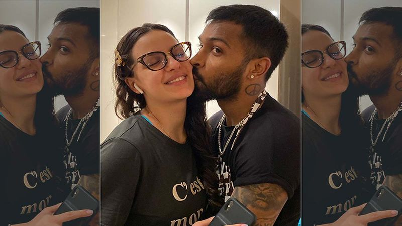 Natasa Stankovic Gets A Peck On Her Cheek From Hubby Hardik Pandya; New Daddy Also Shares A Glimpse Of His Son's Swanky Car