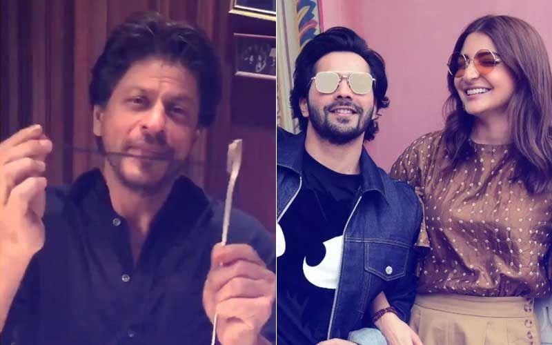 Shah Rukh Khan Sets A Record, Aces Anushka Sharma-Varun Dhawan's Sui Dhaaga Challenge