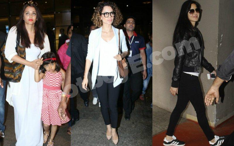 Aishwarya Rai, Kangana Ranaut And Katrina Kaif Tell You How To Travel In Style