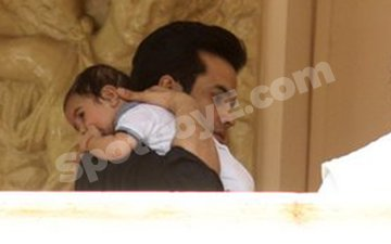 First Pics Of Tusshar Kapoor With His Son Laksshya