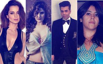 9 SHOCKING Statements In 2017: Kangana Ranaut, Zareen Khan, KJO, Ekta Kapoor, Nawazuddin Siddiqui, Hina Khan...