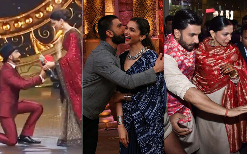 9 Times Deepika Padukone & Ranveer Singh Reaffirmed Our Belief In PDA-Filled Romance