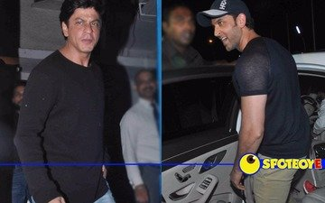 Here's what SRK & Hrithik did last night