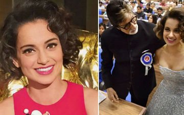 Kangana nails it at the National Award Ceremony