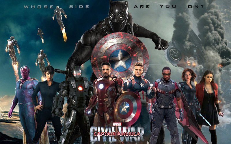 Captain America: Civil War roll call video is action-packed