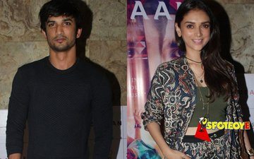 Sushant, Aditi watch Zubaan