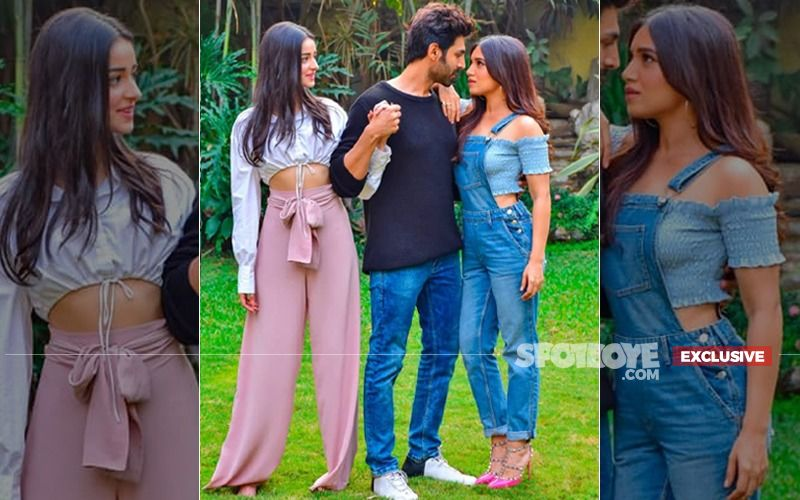It's Confirmed: 'Pati' Kartik Aaryan Will Get Sandwiched Between 'Patni' Ananya Panday And 'Woh' Bhumi Pednekar